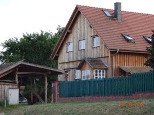 Neubau in Holzständerbauweise in NiederfinowBR Schorfheide-Chorin © J.Peters