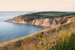 Alum Bay from west High Down - Isle of Wight - United Kingdom, © UNESCO,Courtesy Visit Isle of Wight