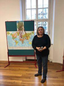 Heike Dickhut (HNEE) auf dem Workshop in Fulda, © H.Rein